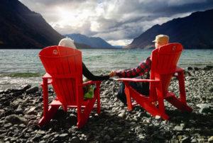Janine and Shane in the Yukon